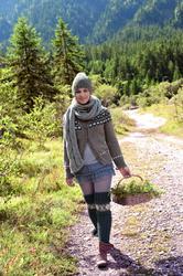 Магдалена Ньюнер, фото 78. Magdalena Neuner Lana Grossa Photoshoot 2011/2012, foto 78