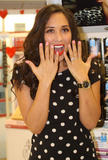 Майлин Класс, фото 858. Myleene Klass Promoting her fingernail range at Boots store in Liverpool - 02.02.2012, foto 858