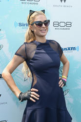 Paris Hilton - SiriusXM's 'UMF Radio' Broadcast Live From The SiriusXM Music Lounge in Miami (3/26/15)