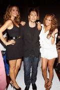 Maria Menounos & Adrienne Bailon @ Shay Todd Swim & Resort Runway Show, Miami, FL July 16 2011