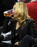Хайден Панотье, фото 14543. Hayden Panettiere - watching a basketball game at the Staples Center 03/07/12, foto 14543