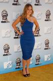 Lauren Conrad in blue dress at 2008 MTV Movie Awards