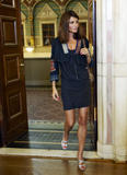 Helena Christensen @ World's largest Catwalk to benefit Children of Chernobyl | August 14 | 15 leggy pics
