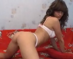 Wild brunette - webcam private girl
