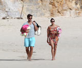 Olivia Palermo | Bikini Candids on the Beach in Saint Barthelemy | January 4 | 78 pics
